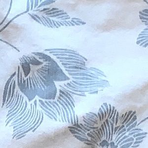 GAP Jeans - Gap legging skimmer white blue floral print